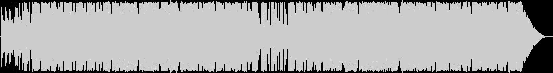 ラテン/ハウス系インスト曲ですの未再生の波形