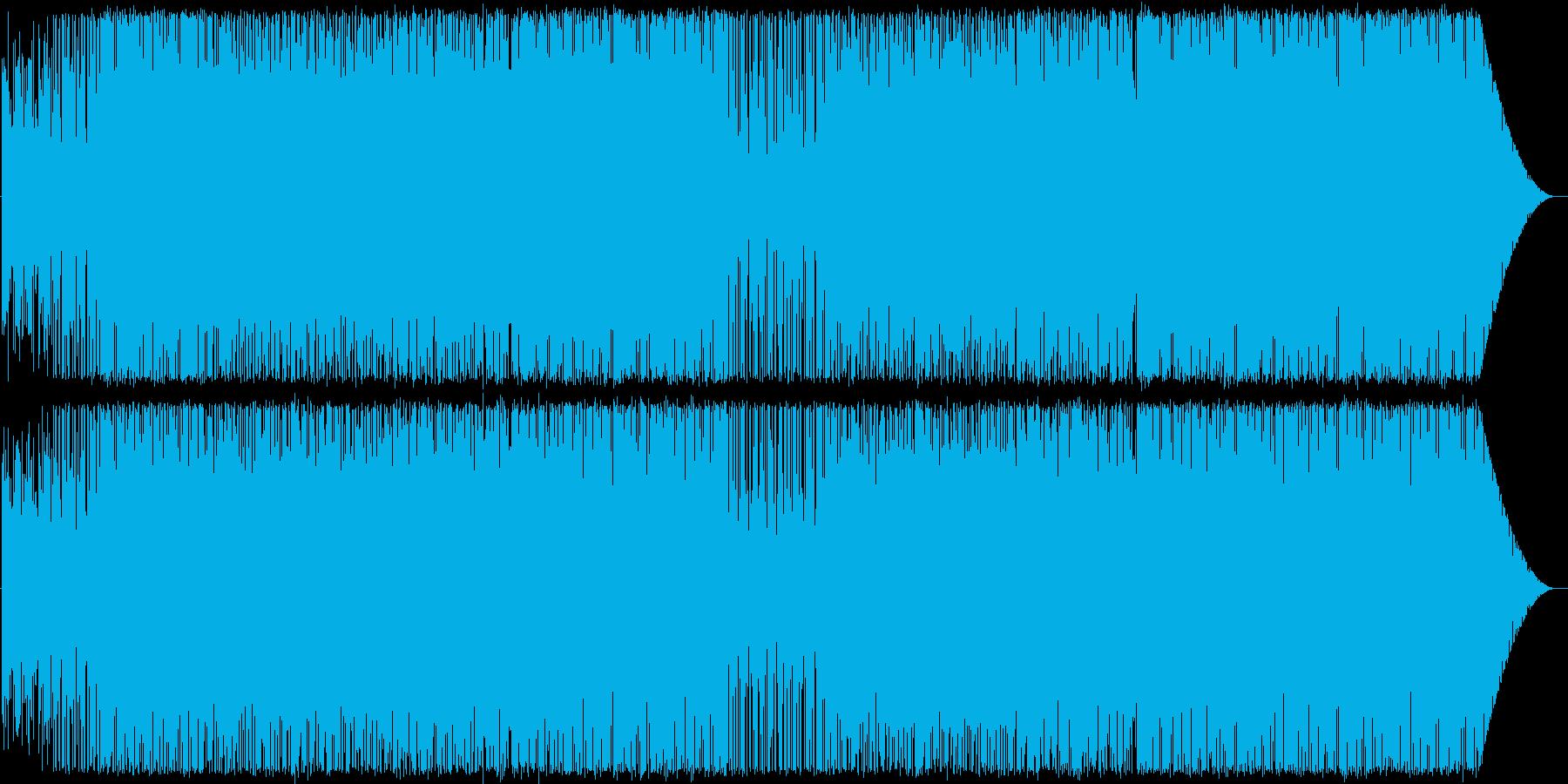 ラテン/ハウス系インスト曲ですの再生済みの波形