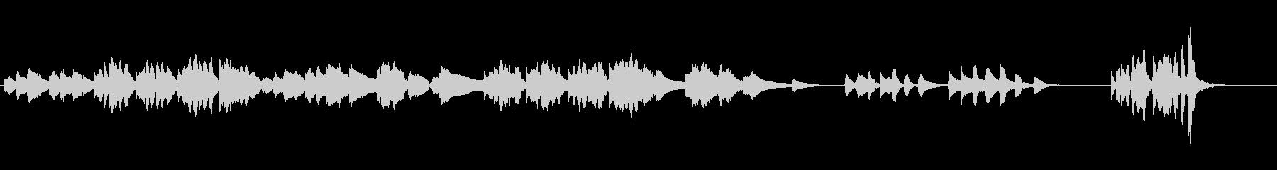 バルトーク「リンゴを食べたイヴ」の未再生の波形