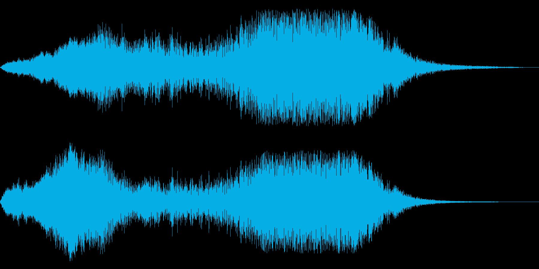 F1などのレース、エンジン音に最適36!の再生済みの波形