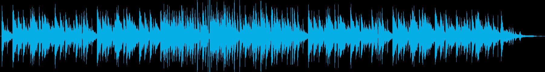 フランス・おしゃれカフェ系ジャズ・伴奏版の再生済みの波形