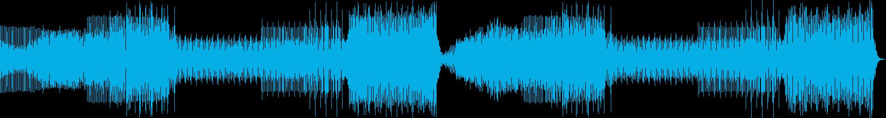 EDM・エキサイティング・激しい・クールの再生済みの波形