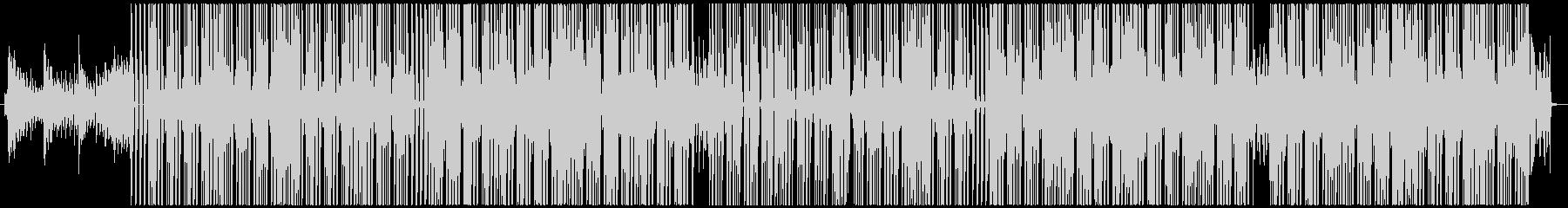 HIPHOP ラップ BGM アーバンの未再生の波形