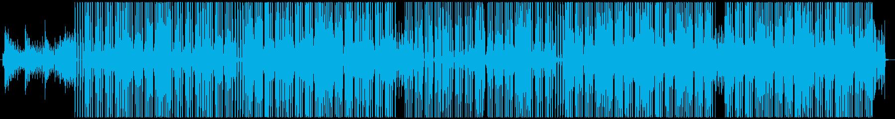 HIPHOP ラップ BGM アーバンの再生済みの波形