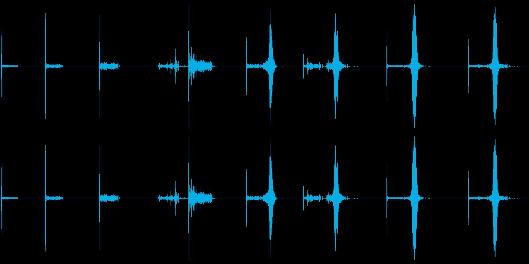マッチ、イグナイト、ファイアー、エ...の再生済みの波形