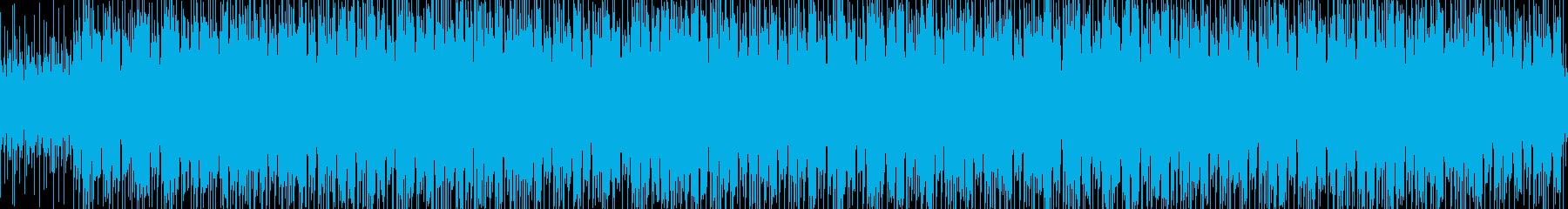 アジア風、サイケデリックチルアウトの再生済みの波形