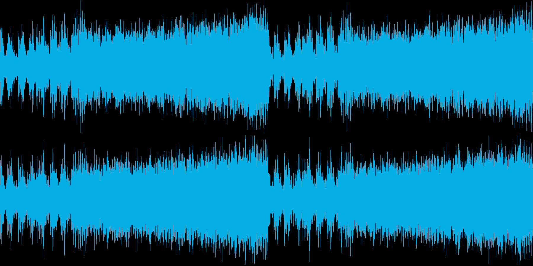 金管楽器メインのオーケストラ曲です。の再生済みの波形