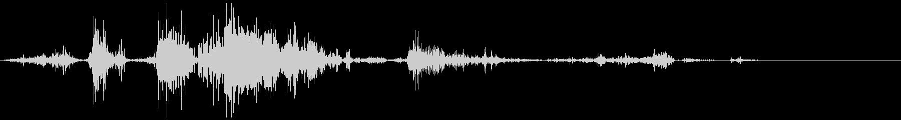 加工獣(KYMA)1の未再生の波形