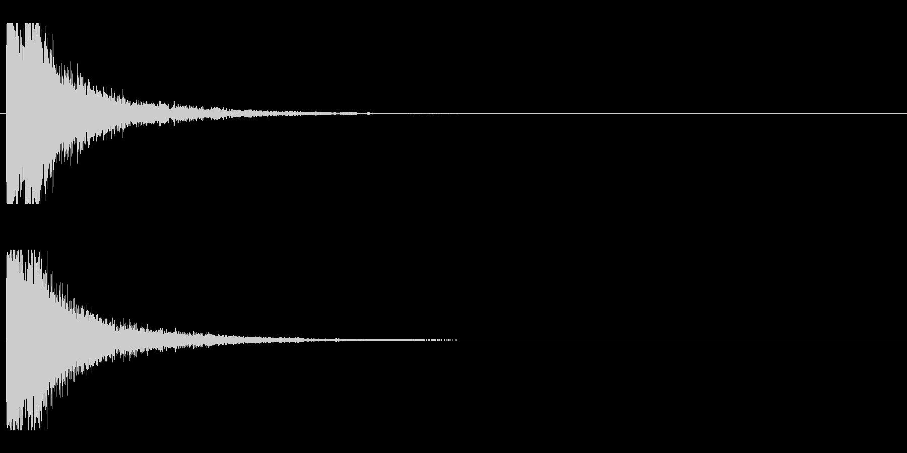 レーザー音-04-1の未再生の波形