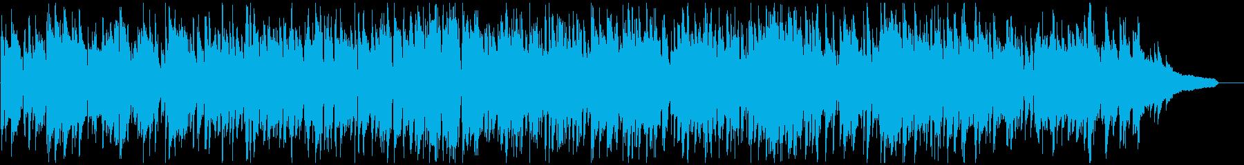 軽快な足取りのライトなジャズ、スイングの再生済みの波形