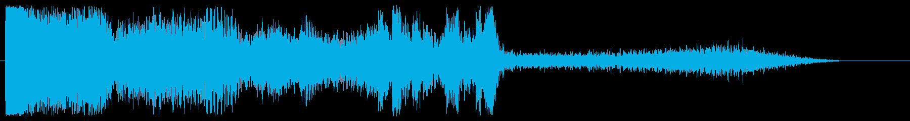 チャージアップ、モーフィンググレイ...の再生済みの波形