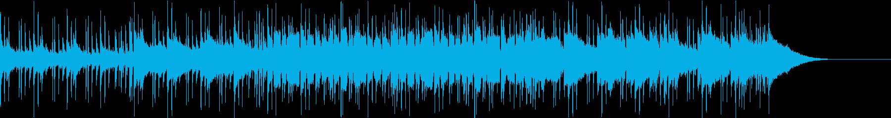 Pf「陽光」和風現代ジャズの再生済みの波形