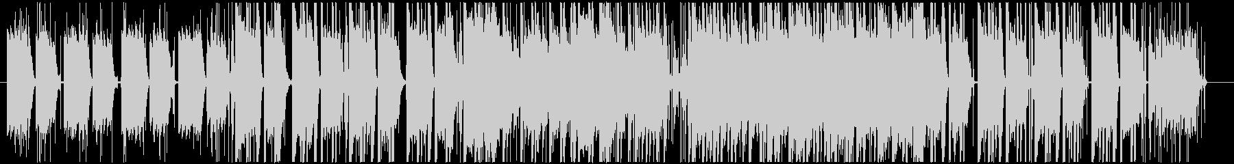 Lo-fiHipHop風なピアノ曲の未再生の波形