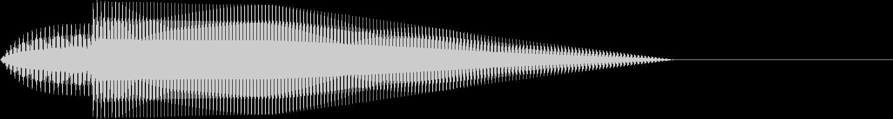 ピロン・かわいい・決定音・選択音の未再生の波形