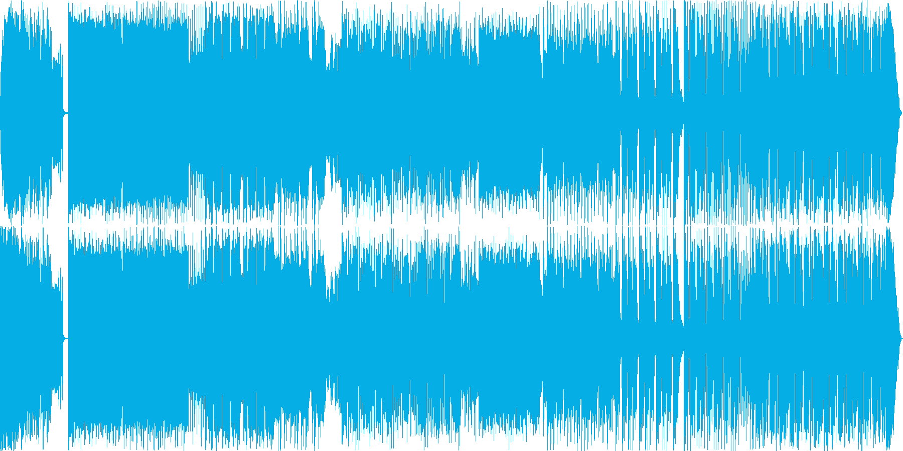 謎の再生済みの波形