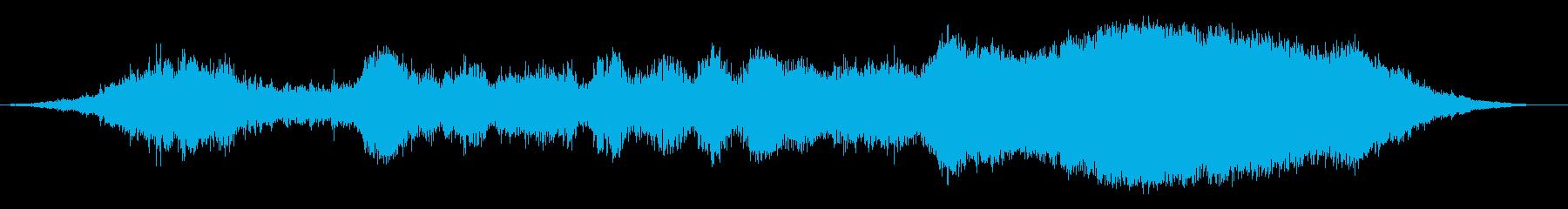 サッカー1の再生済みの波形