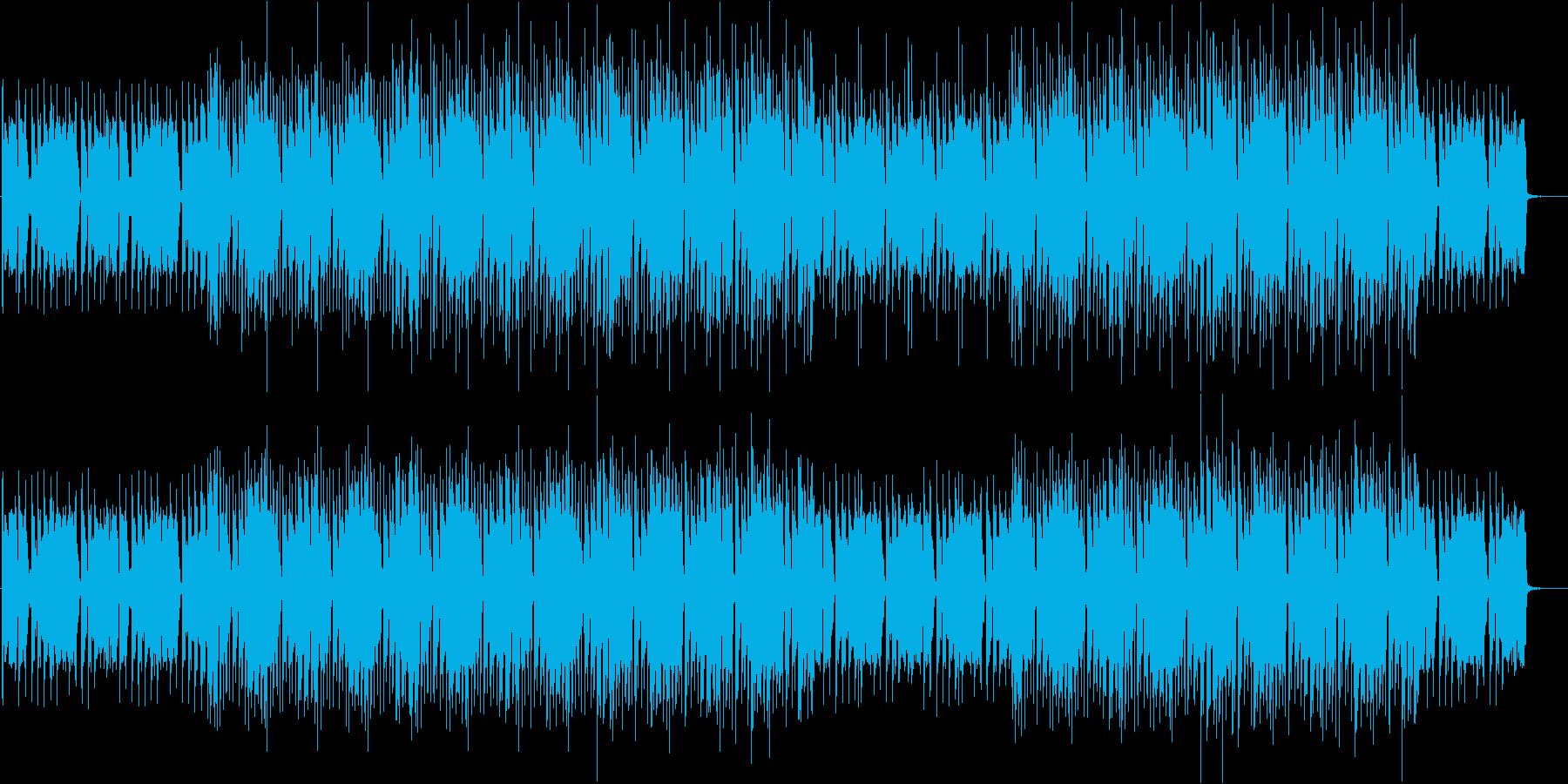ブラス_ファンク_ウッドベース_グルーブの再生済みの波形