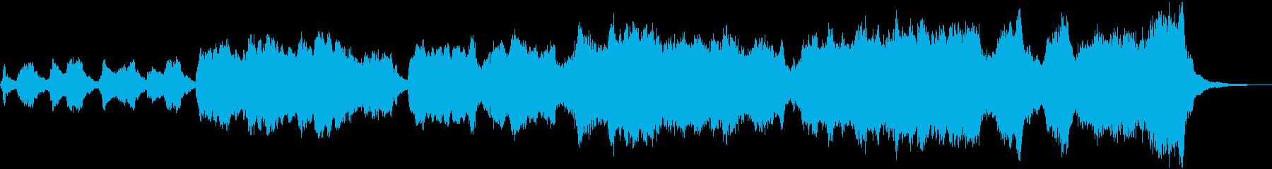 管弦楽による素朴なワルツの再生済みの波形