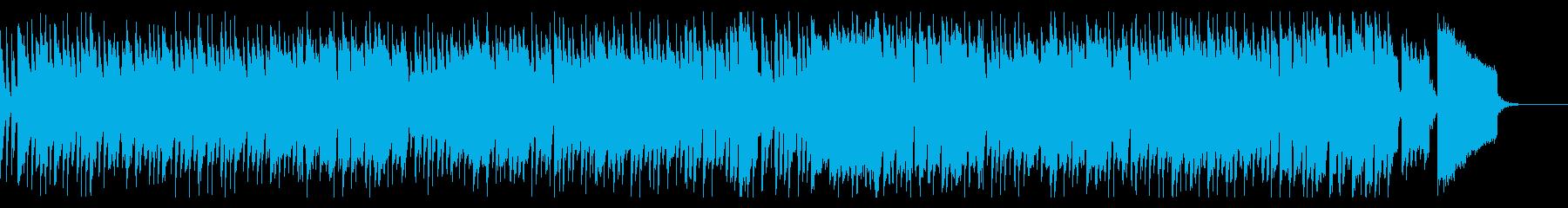 レトロなポップス【50年代洋楽風】の再生済みの波形