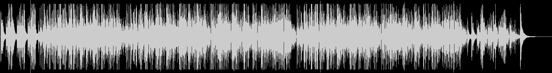 2本のボサノバギターBGM Longの未再生の波形