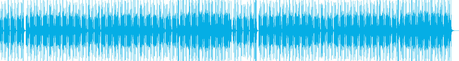 波に揺れるようなゆったりゆるいBGMの再生済みの波形