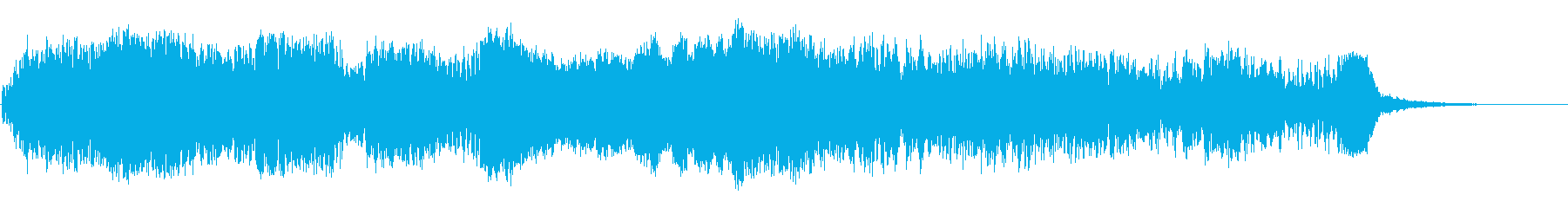 インターフェロンの再生済みの波形