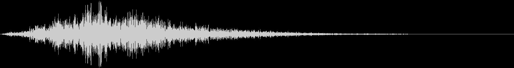 【シネマティック】SFX_02 ブーンッの未再生の波形