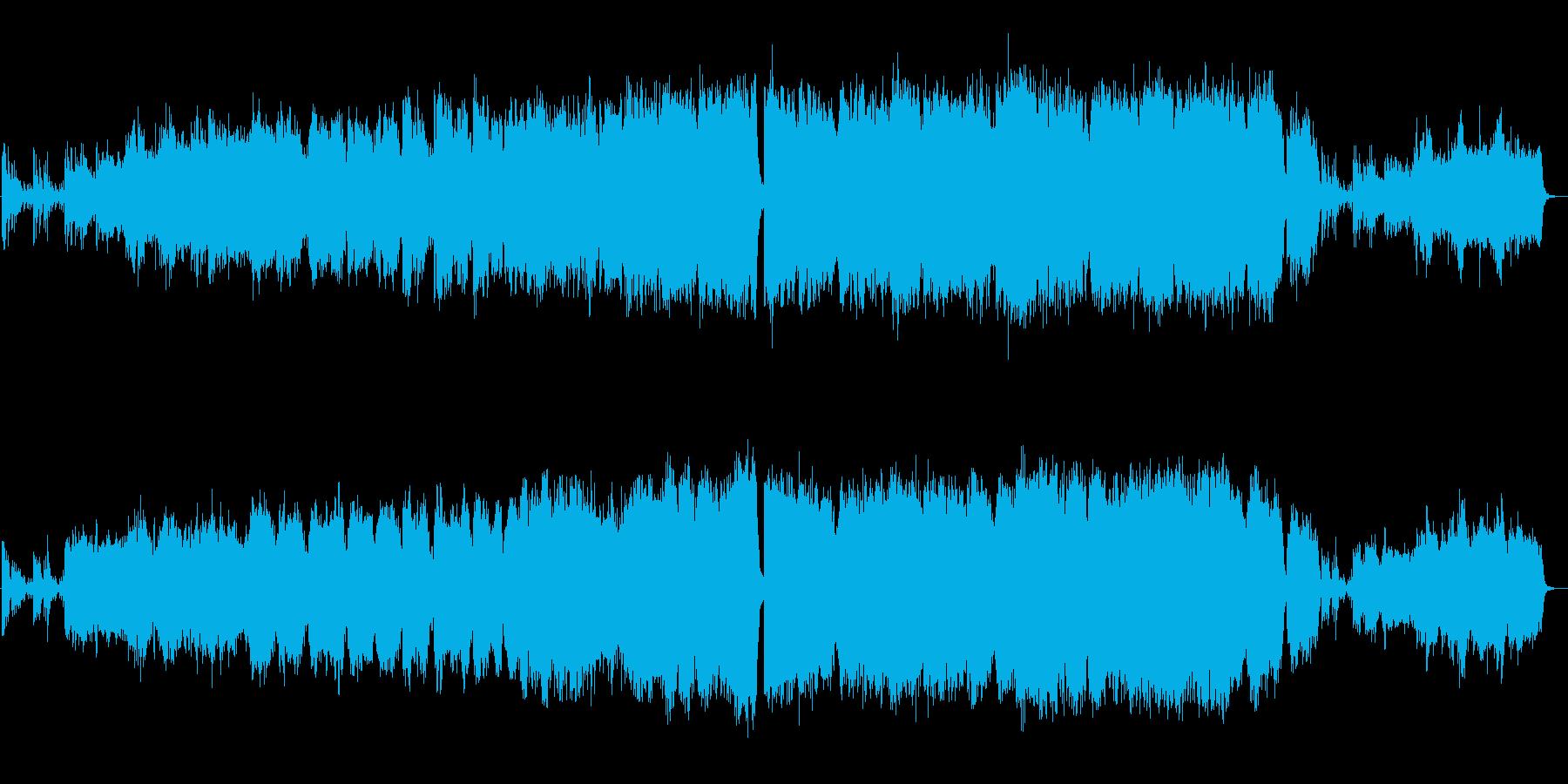 【生演奏】ドラマチックで優しいフルート曲の再生済みの波形