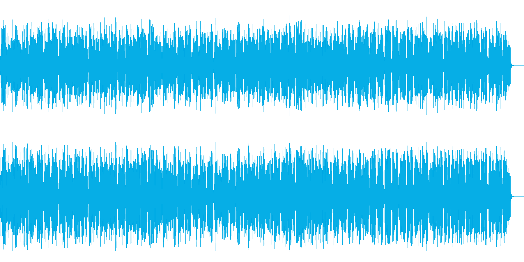 南国気分でほのぼのとしたレゲエ系ポップスの再生済みの波形