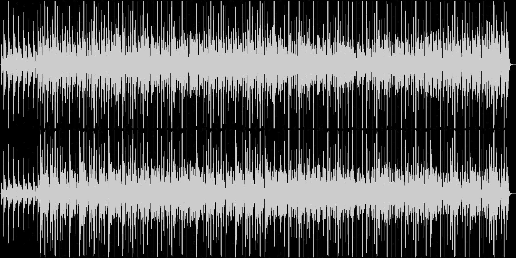ドキュメンタリー 堅実さを伝えるBGMの未再生の波形