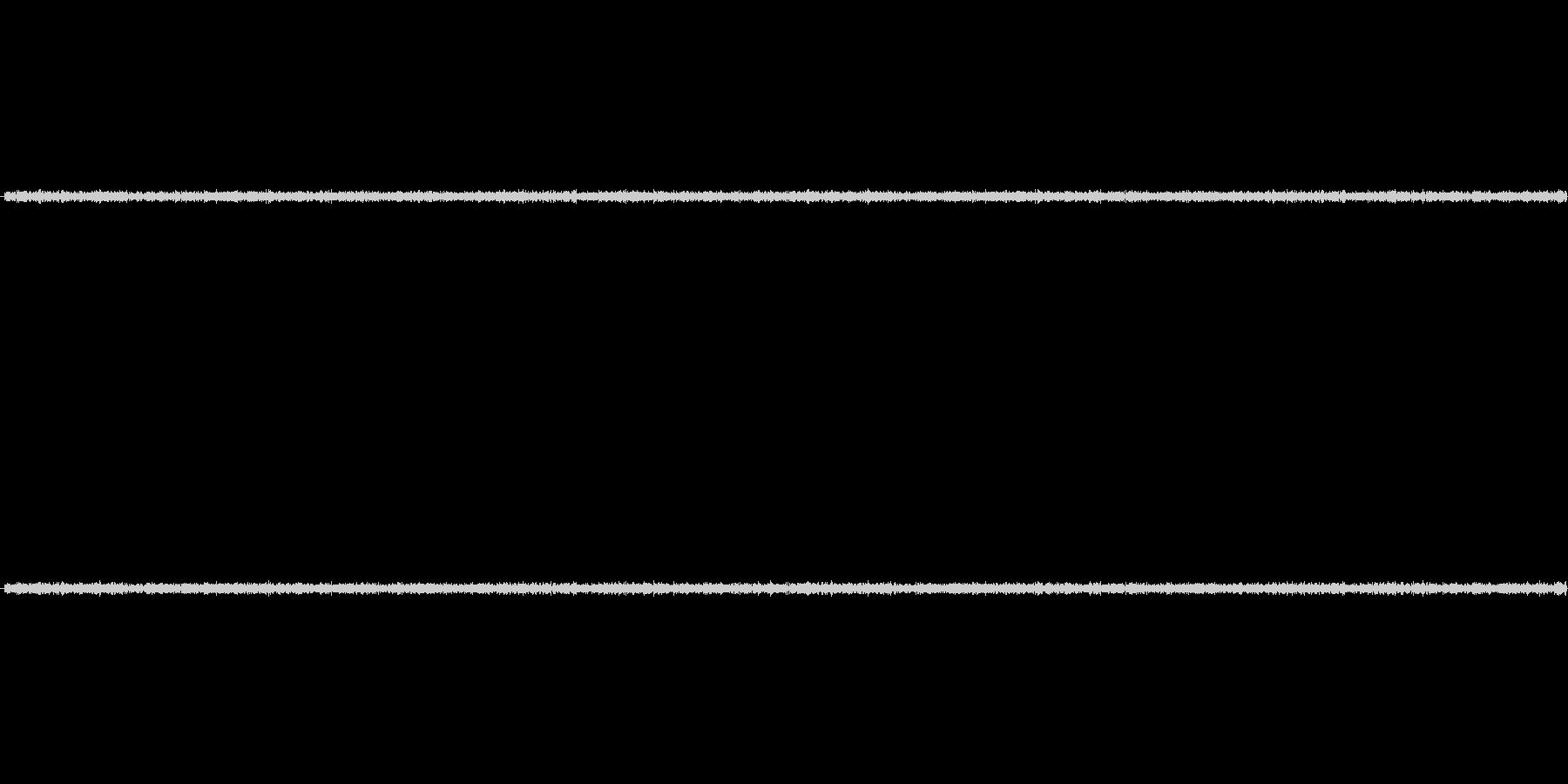 電子レンジの稼働音ですの未再生の波形