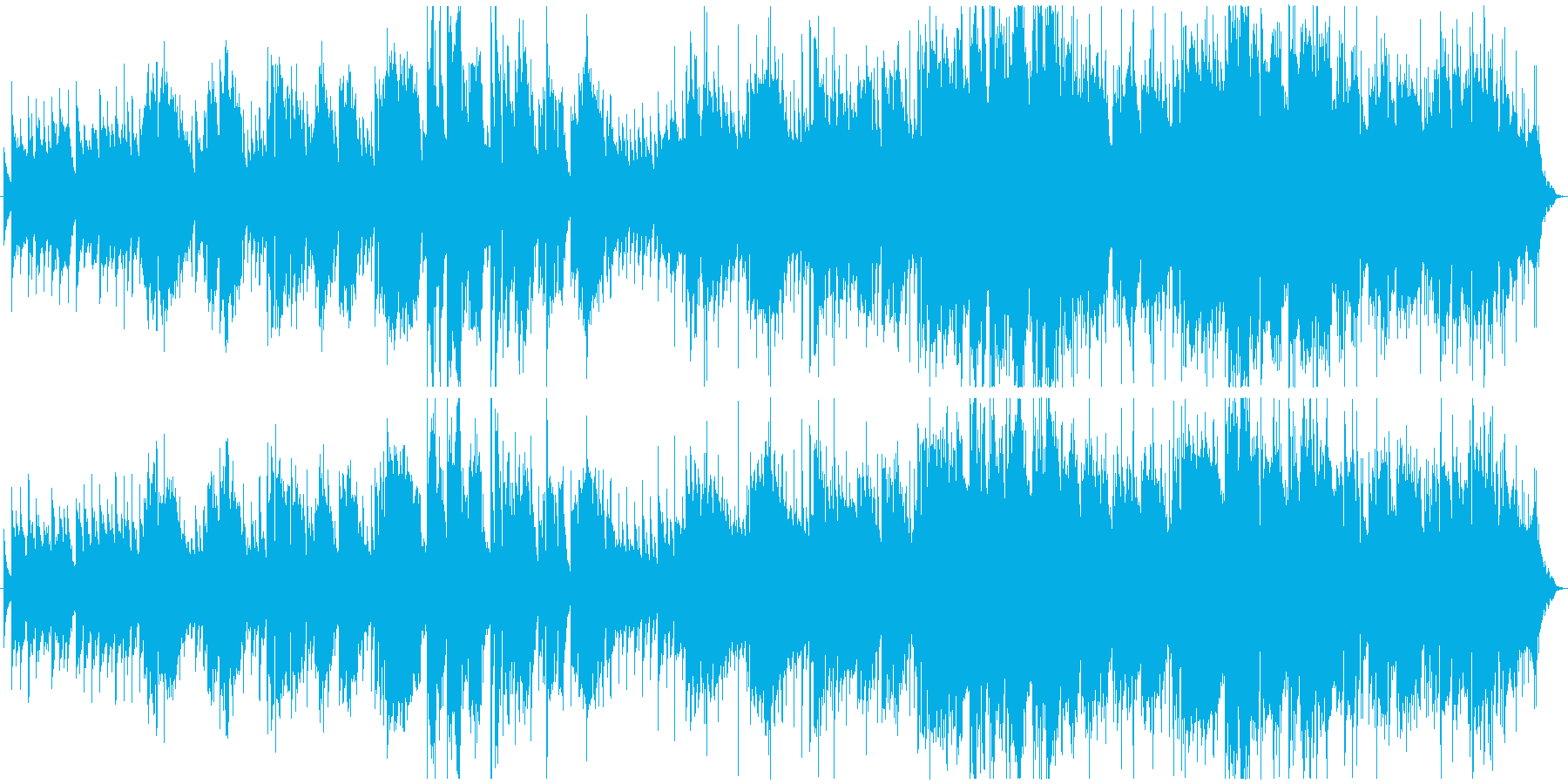 ハーモニカが印象的なブルージーなバラードの再生済みの波形