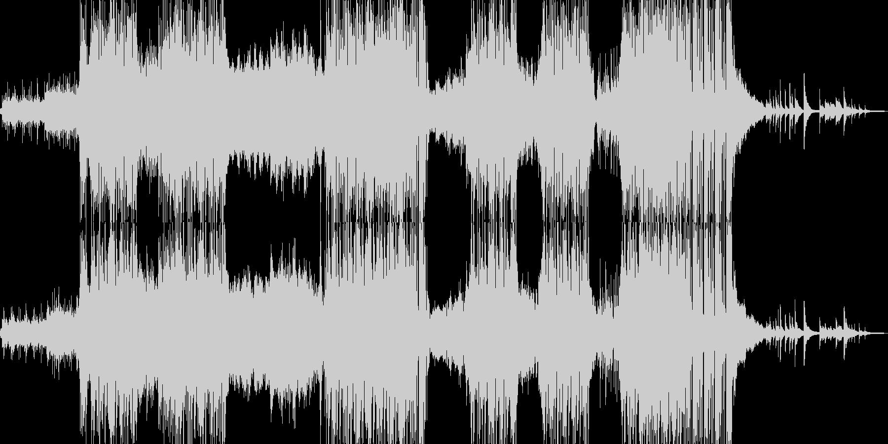 ハッピーな演出を彩るR&Bポップの未再生の波形