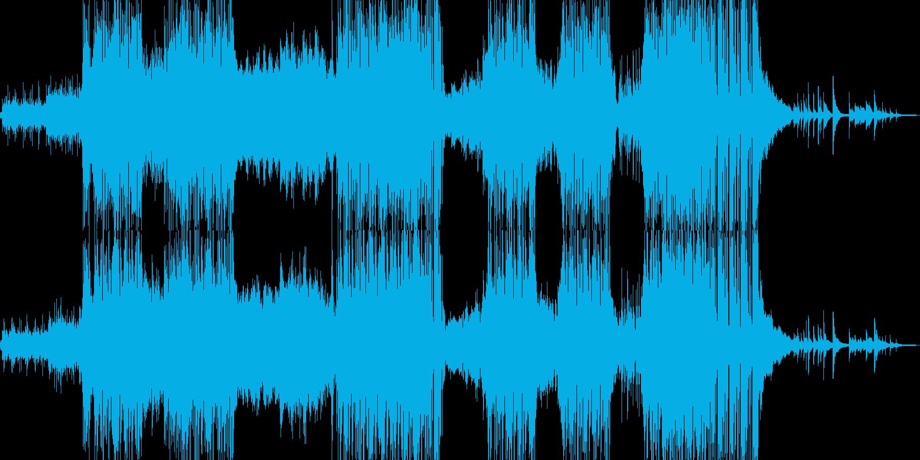 ハッピーな演出を彩るR&Bポップの再生済みの波形