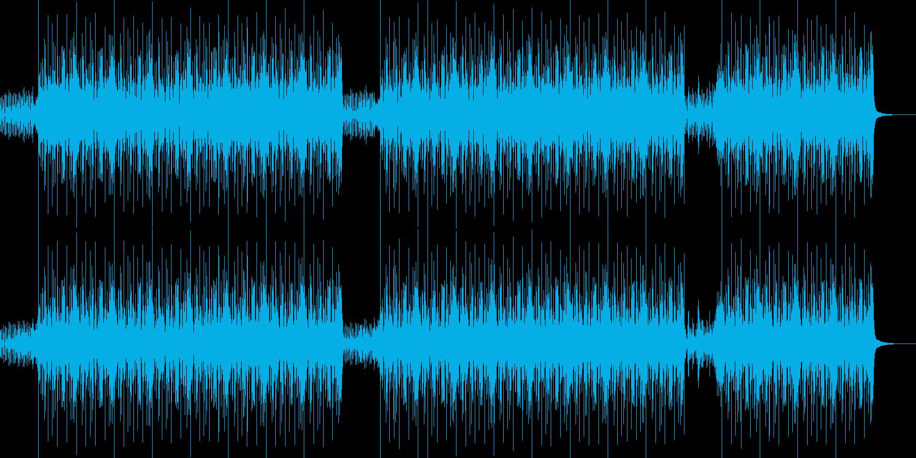 デトロイト風ラップに抜群なHip-Hopの再生済みの波形