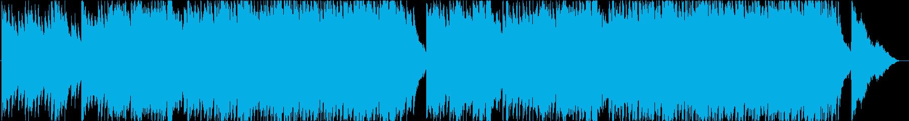 ドラマチック、シネマティック、ピアノの再生済みの波形