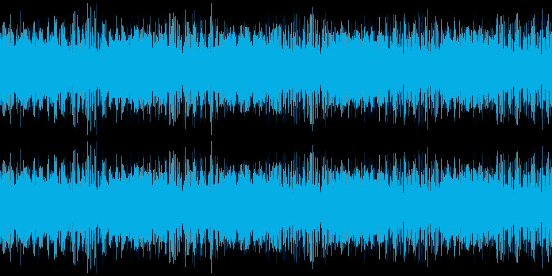 ファミコン音源 ほのぼのとした港町の再生済みの波形