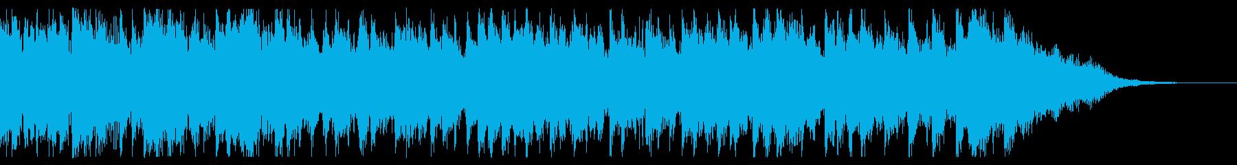 ハロウィン オープニング ジングルの再生済みの波形