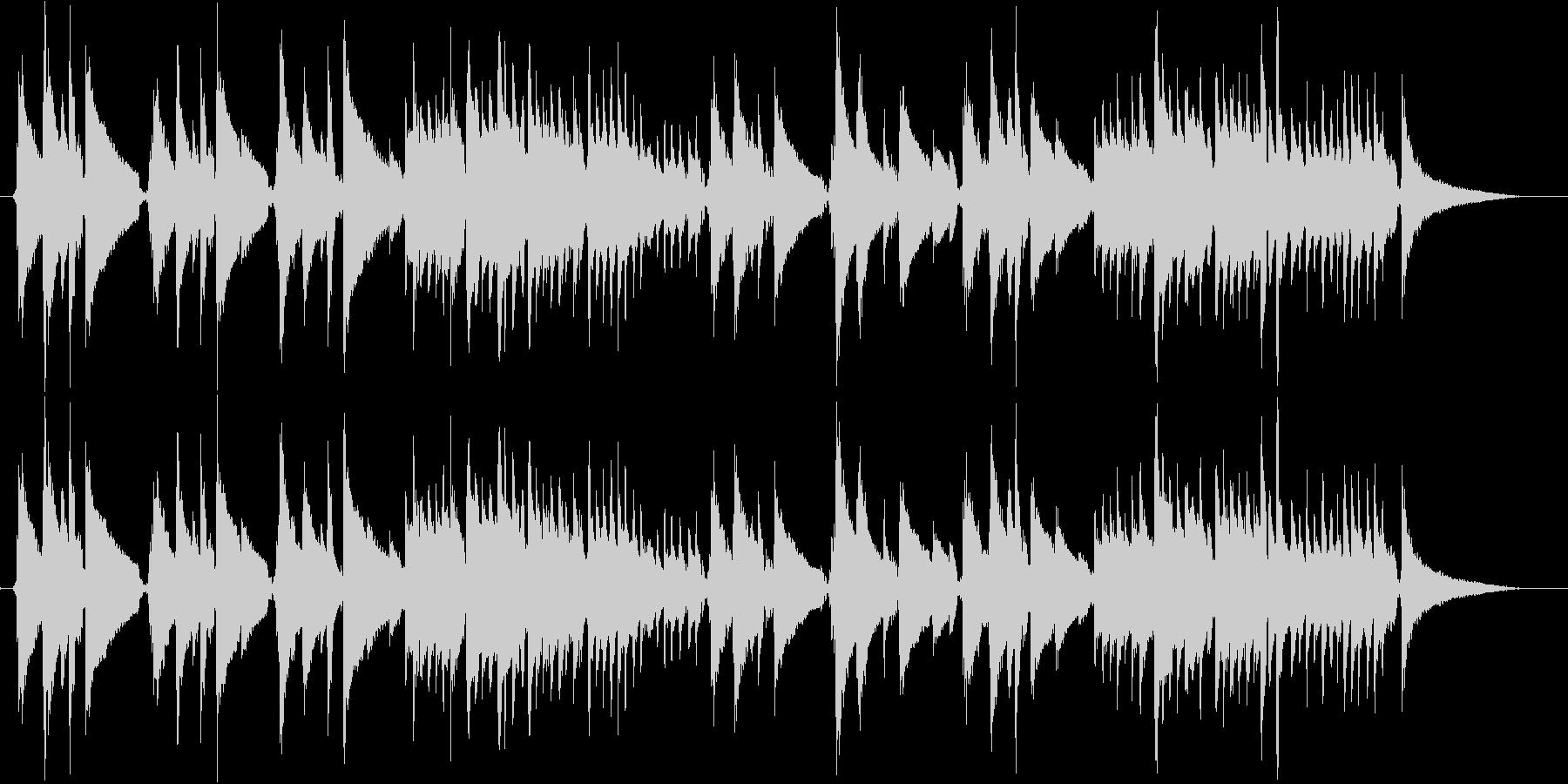 アコギ演奏 柔らかな日差しのイメージの未再生の波形