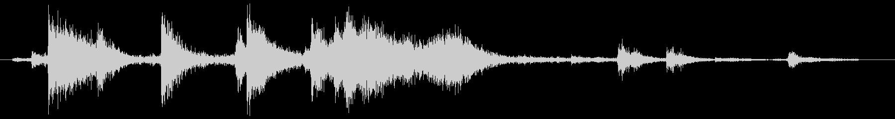 メタル クラッシュミディアム06の未再生の波形