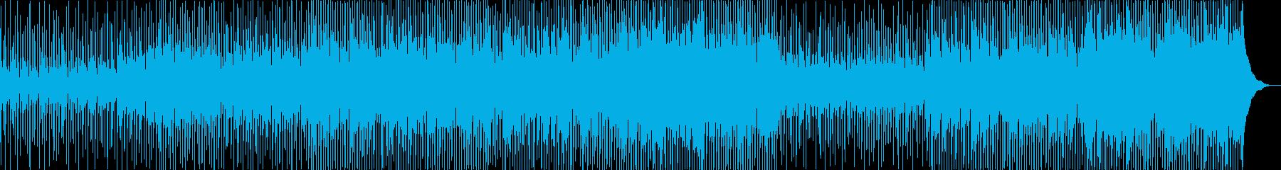 陽気で明るい軽やかなメロディの再生済みの波形