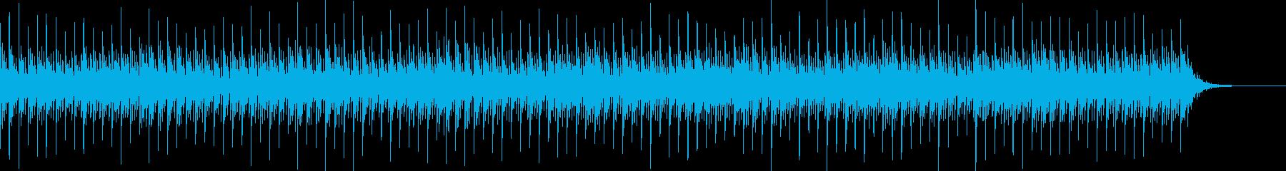 神秘的でミステリアスなオルゴールの曲の再生済みの波形