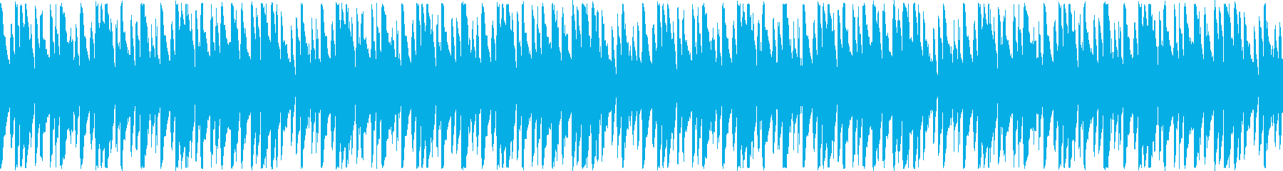 南国風にぎやかでわいわいした感じのBGMの再生済みの波形