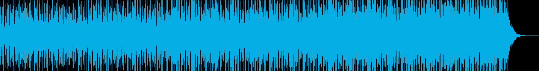 天の川を連想させる和の1曲の再生済みの波形