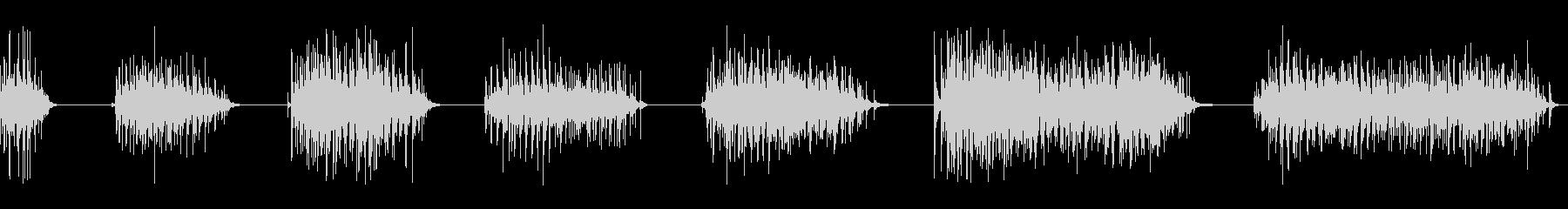 拍手、32人、3バージョン; DI...の未再生の波形