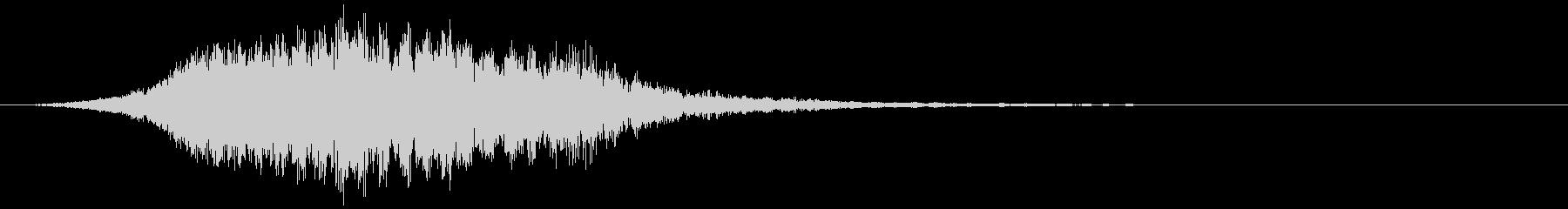 【ホラー】SFX_10 不安の未再生の波形