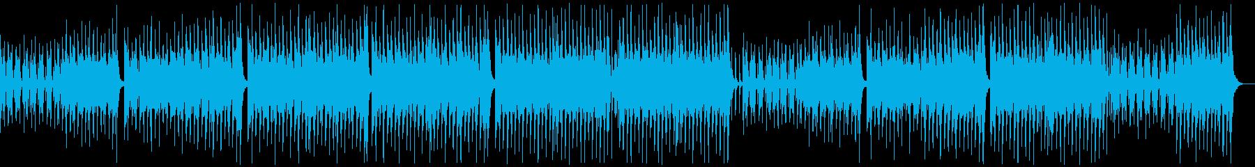 のんびり楽しいレゲエポップ:メロディ抜きの再生済みの波形