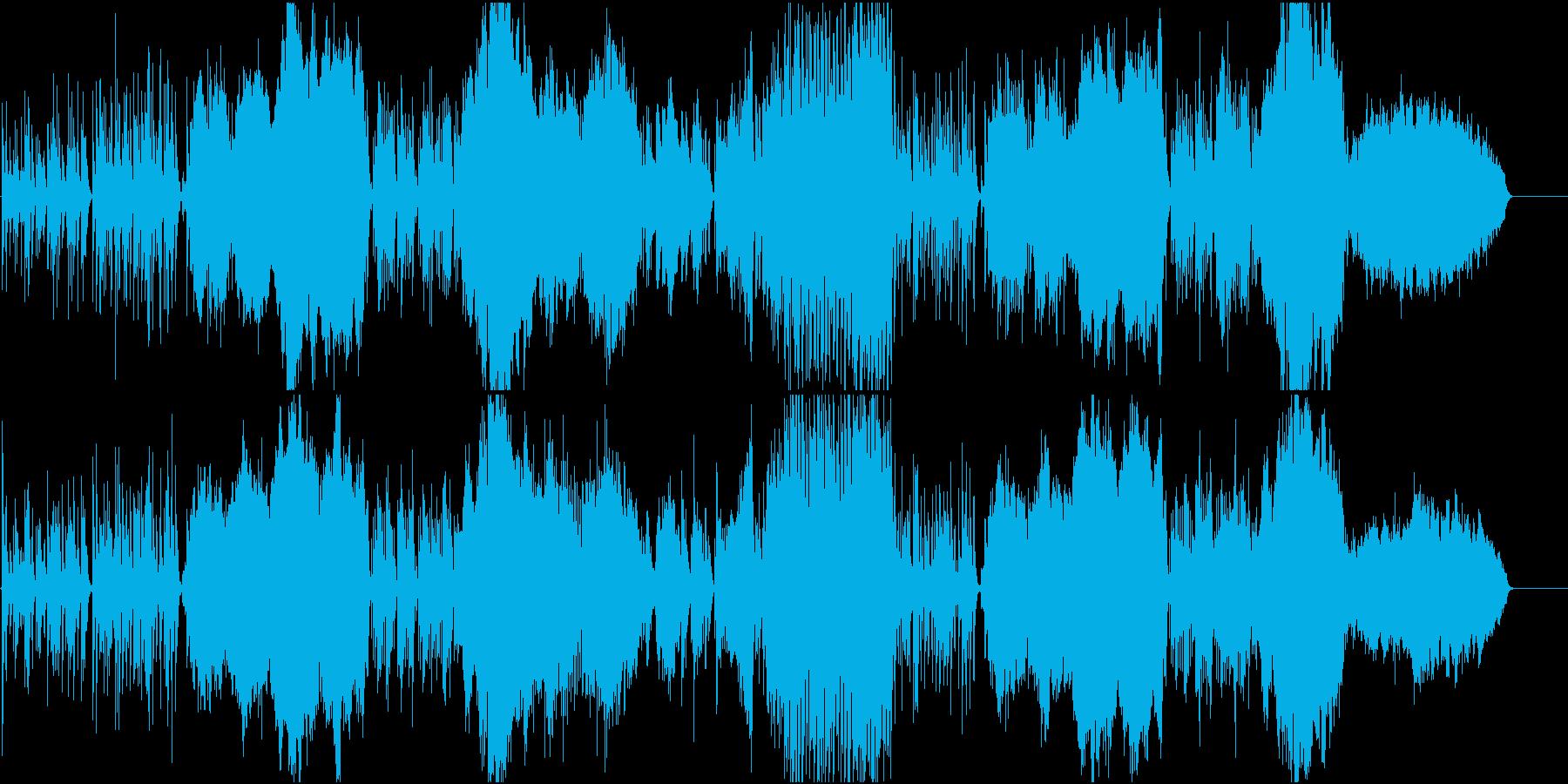 可愛らしくのどかなオーケストラの再生済みの波形