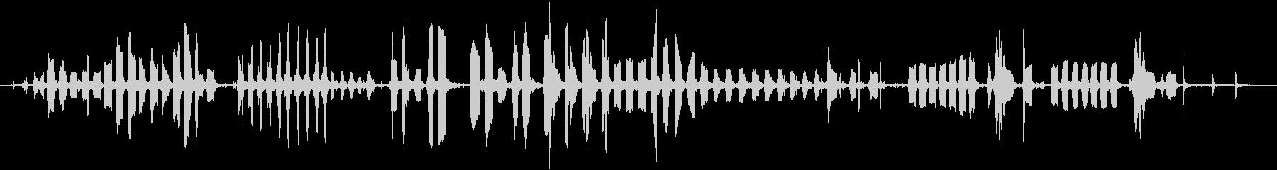 1880スリーバードケージボイスボ...の未再生の波形