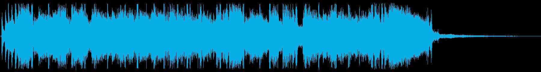 リターンマッチを促すような旋律の再生済みの波形